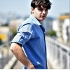 5011.BLUE-LIGHT ΑΝΔΡΙΚΟ ΠΟΥΚΑΜΙΣΟ LINEN MOHICANS