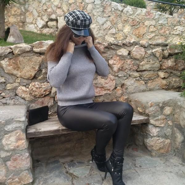 ΓΥΝΑΙΚΕΙΟ ΚΑΠΕΛΟ BLACK ΚΑΡΟ MOHICANS BLACK LINE