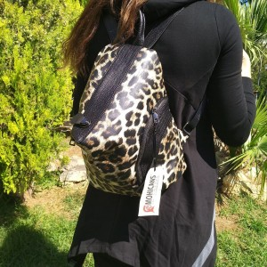 WOMEN'S BACKPACK MOHICANS BLACK LINE